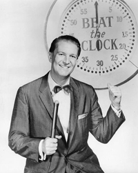 Bud Collyer on Beat the Clock. 1958